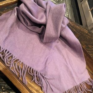 Accessories - Cashmere like .. violet scarf